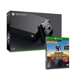 Xbox One X + PUBG (code de téléchargement)