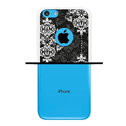 iPhone 5C Hülle, WoowCase Handyhülle Silikon für [ iPhone 5C ] Coloriertes Graffiti Handytasche Handy Cover Case Schutzhülle Flexible TPU - Transparent Housse Gel iPhone 5C Transparent D0554