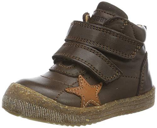 Bisgaard Unisex-Kinder Jamie Hohe Sneaker, Braun (Brown 302), 35 EU