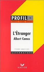 L'Etranger, Camus, 1942 : Analyse critique