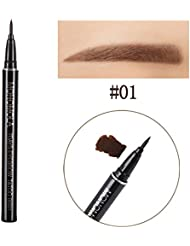 Crayon a Sourcil Couleur Tattoo Liner Woya Longue Tenue Impermeable Sourcil Maquillage