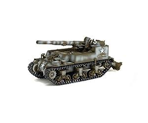 Solido-GMC-M12155mm-Francia 1944Coche de ferrocarril de Collection, 7200509, Verde/Blanco