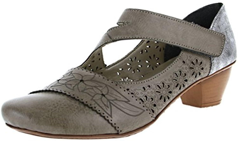 Rieker , pour Mocassins pour , femme gris gris 4f0070