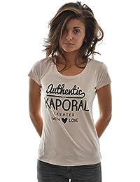 Kaporal Slow - T-shirt - Uni - Manches courtes - Femme