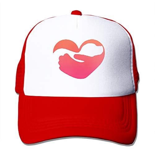 Bgejkos Pet Logo Love Dog Summber Sun Hat Caps Soccer Cap Hiking Hat One Size