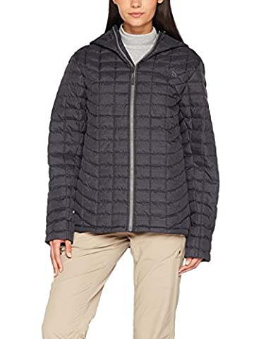 The North Face Men's Thermoball Hooded Jacket, TNF Black/Fusebox Grey, Medium