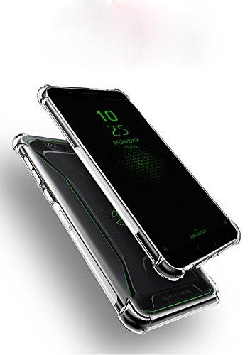 AioiA Hülle für Xiaomi Mi Black Shark,TPU Schutzhülle Case Silikon für Xiaomi Mi Black Shark