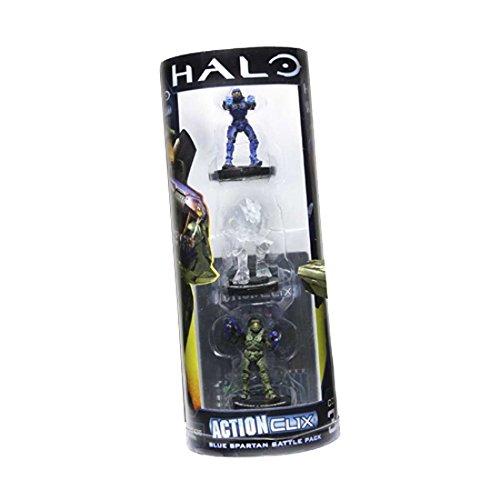 Unbekannt Star Bilder Halo actionclix Sparten Schlacht Sortiment Pick und Mix Pack (rot/blau) (2 Mini Halo)