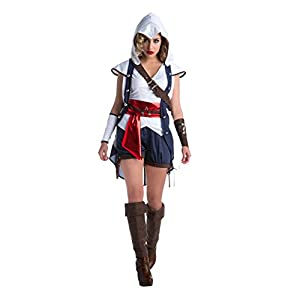 Assassin's Creed Connor Women's Costume, Small 6-8