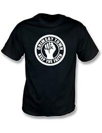 PunkFootball Grimsby Keep the Faith T-shirt, Color Black