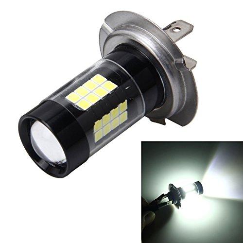 Éclairage Lampe anti-buée DC 12V, H7 7W 420LM 6000K avec 43 lumières DEL SMD-3528 L'éclairage pour vous