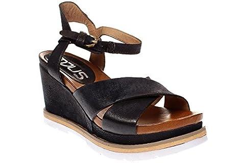 Mjus APRIL - Damen Schuhe Sandale Keilsandalette - 872007-0201 6357-space, Größe:39 EU