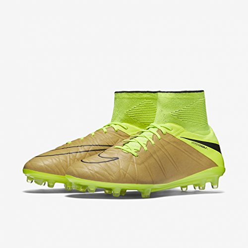 Elettrico erano Nike Hypervenom Da Scarpe tela Fg Phantom Lthr Oro Uomo Giallo Calcio Ii Nero 44 SwZSFRqg