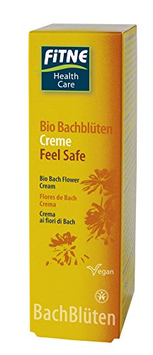 Fitne Bio Bachblüten Creme Feel Safe - 50 ml vegan