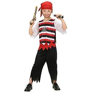 Iden Widmann 58546 - Disfraz de pirata para niño (talla 128)