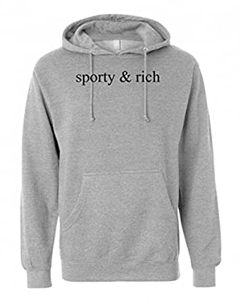 Sporty & Rich Unisex Pullover Hoodie Small