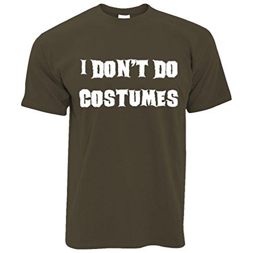Ich tue kostümiert Halloween-Kostüm Dad Mom Monster Vampire nicht Herren (Halloween Lebensmittel Kostüm)