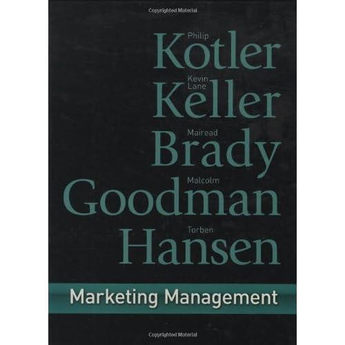Marketing Management: First European Edition