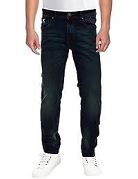 Raa Jeans Men's Slim Fit Jeans Raa026 Denim Blue