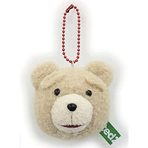 Ted 2 relleno de la mascota de cadena de la bola (Sonrisa)