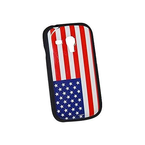 Schutzhülle aus Gel Flagge USA für Samsung Galaxy S3Mini (Ebay Samsung S3 Mini)
