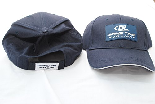 Bud Light, Game Time Baseball Cap, Adult, Unisex fit, Navy Blue
