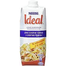 Nestlé Ideal - Leche evaporada semidesnatada - Caja de leche evaporada 12 x 500 ml (