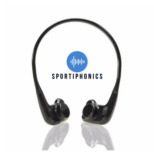 Sportiphonics - Wireless Bone Conduction Waterproof Swimming & Running Bluetooth Headphones