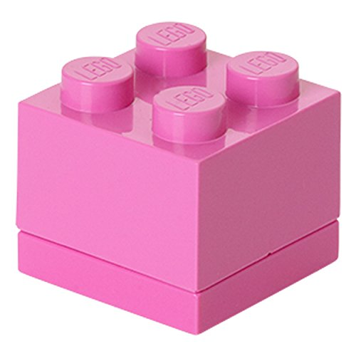 LEGO Mini Box 4 rosa RC40111739 (Rosa Lego-lunch-box)
