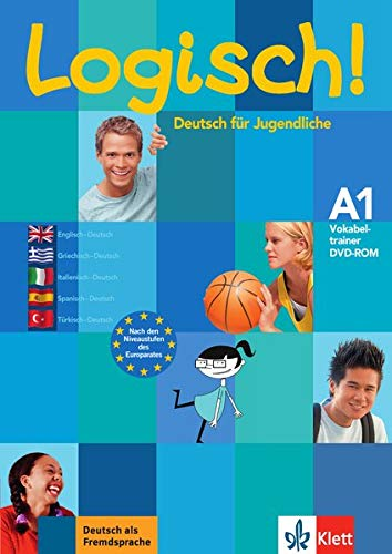 Logisch! A1: Deutsch für Jugendliche. Vokabeltrainer CD-ROM (Englisch, Spanisch, Griechisch,...