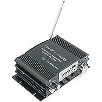 sourcingmap 12V 18V USB SD Amplificador de Audio Hifi con Remoto Mando Radio FM