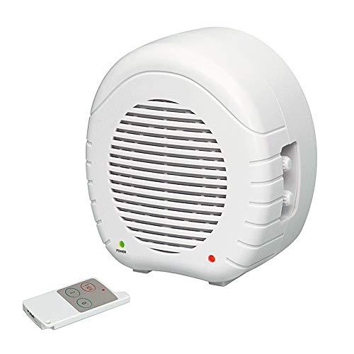 Elektronischer Wachhund - Mit integriertem RADARSENSOR - Zur Abschreckung ideal geeignet - Inklusive Fernbedienung - Farbe: Weiß - C336036