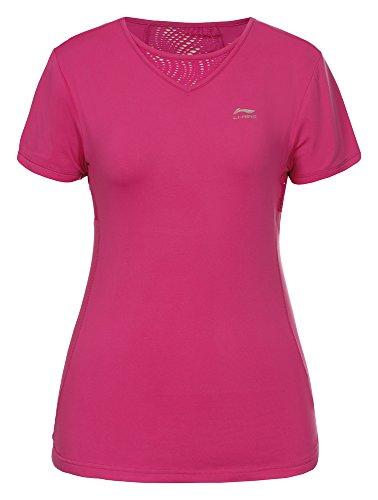 Li Ning T-shirt Mona Coral-Red