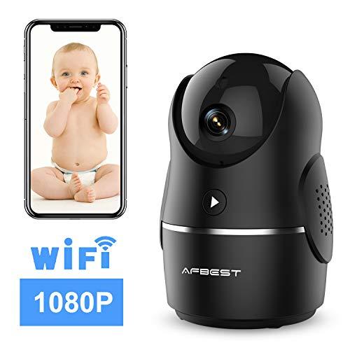 Cámara de seguridad AFBEST WiFi con detector de movimiento, visión nocturna y audio bidireccional por sólo 15,20€ usando el #código: GO386GZX