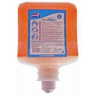 Deb RFW1L 1L Cartridge Rose Foam Hand Wash