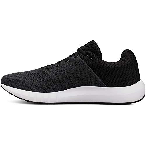 Under Armour Herren Micro G Pursuit Sneaker, Schwarz (Anthracite  (102)), 44.5 EU