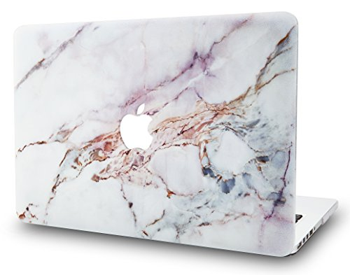 Book Air 11 Zoll Case Cover MacBook Air 11.6 Hülle {A1465/A1370} (Marmor Weiß 4) ()