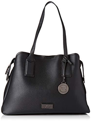 XTI 86140, Shopper para Mujer, (Negro), 38x26x15 cm (W x H x L)