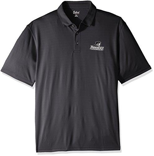Oxford NCAA Providence Friars Herren Houston Performance Poloshirt, 3XL, Schwarz