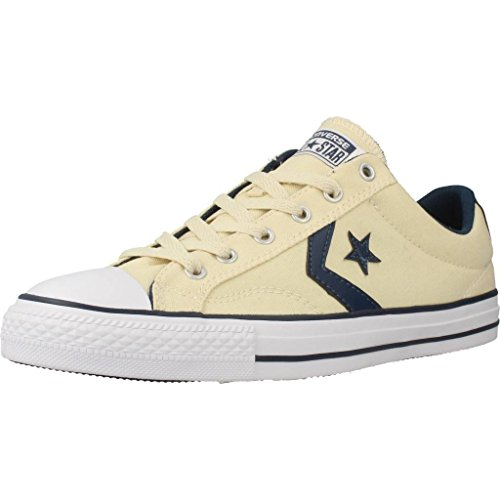 Converse, Star Player Adulte Core Canvas Ox, Sneaker, Unisex - adulto NATURAL/NAVY