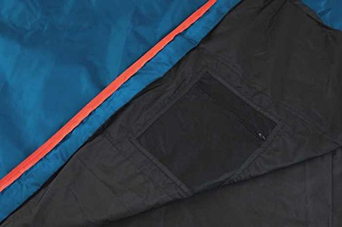 41XZgUCn4fL - Snugpak The Sleeping Bag for Elpak Traveller Petrol Blue
