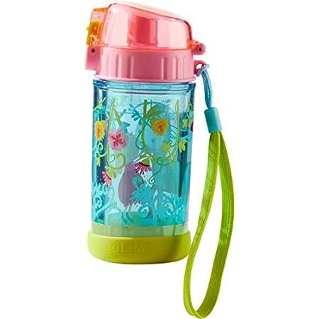 HABA 302844 – Glitzertrinkflasche Vicki & Pirli, Kinder-Trinkflasche für Pferde-Freundinnen, für Kindergarten oder…
