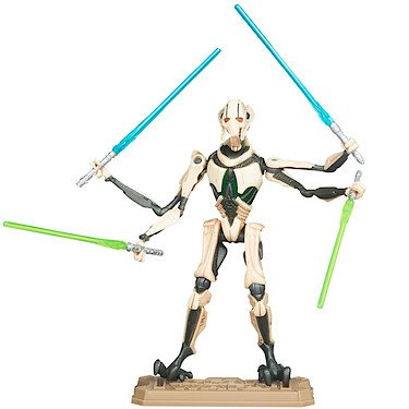 Star Wars 37755 - Figura de General Grievous