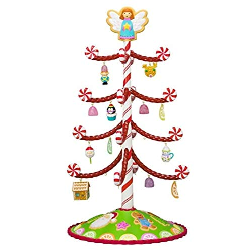 Hallmark Season 's treatings Mini-Baum mit 12 Ornaments