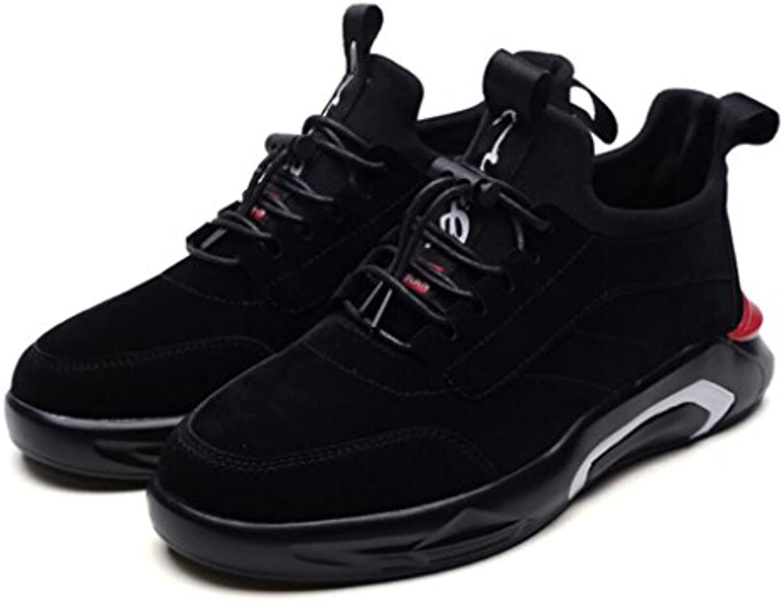 Zapatillas de deporte de gamuza de los hombres Zapatillas de deporte planas Zapatillas de skate de estudiante  -