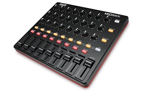 AKAI Professional Midimix  Voll zuweisbarer, portabler, hoch performanter MIDI Mixer & DAW Controller - Usb-controller Mixer