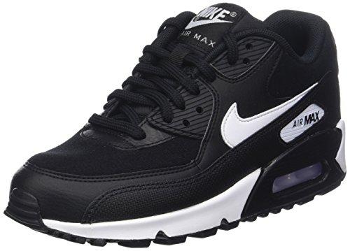 half off 223d2 cdfe2 Nike Air Max 90, Zapatillas para Mujer, Negro (Black White 047)