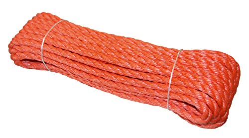 Kerbl Polyseil, extrem hohe Bruchlast, hochwertige Qualität, 20 m Bund Poly Seil -
