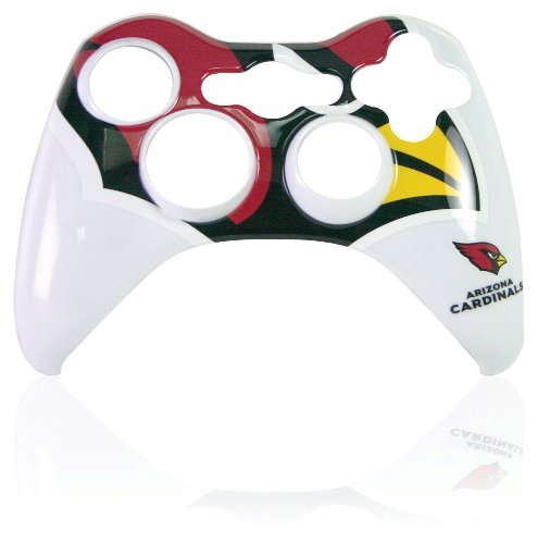 Xbox 360 Official NFL Arizona Cardinals Controller Faceplate by Mad Catz