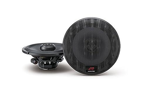 Alpine R-Series 6.5 Inch 300 Watt Coaxial 2-Way Car Audio Speakers, Pair | R-S65